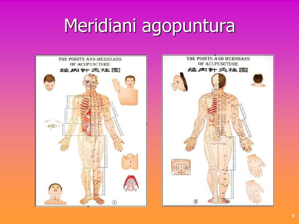 Meridiani agopuntura