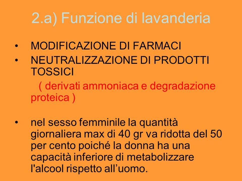 2.a) Funzione di lavanderia
