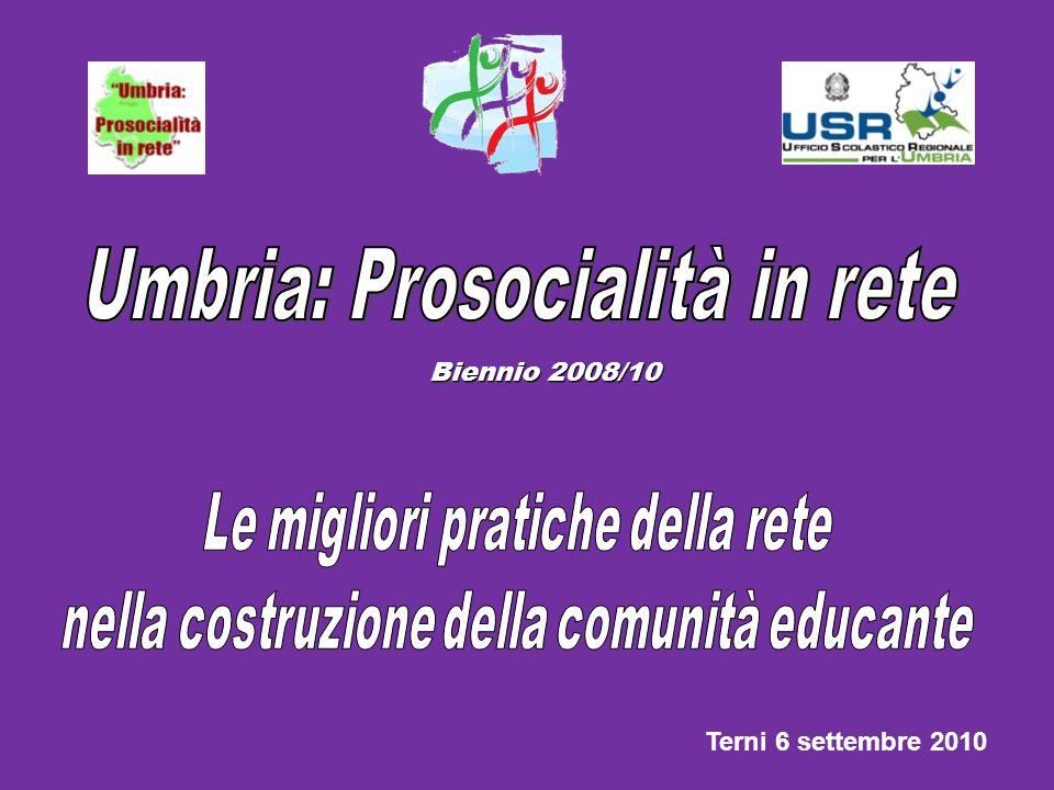 Umbria: Prosocialità in rete