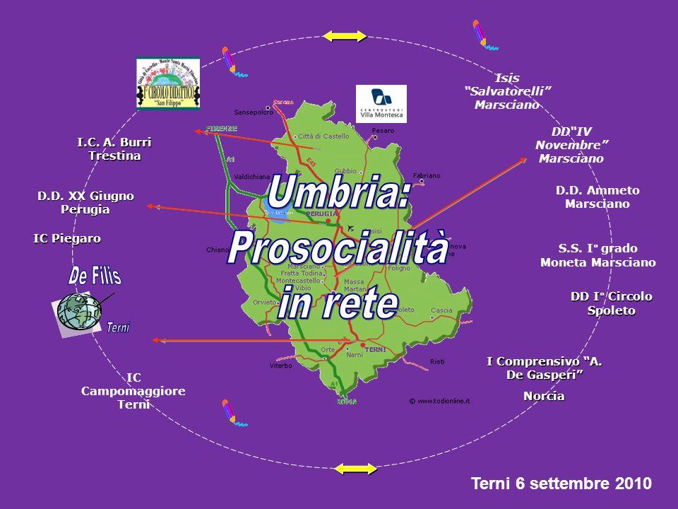 Umbria: Prosocialità in rete De Filis Terni Terni 6 settembre 2010