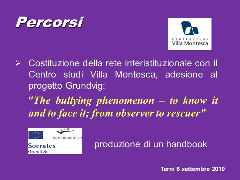 Percorsi produzione di un handbook