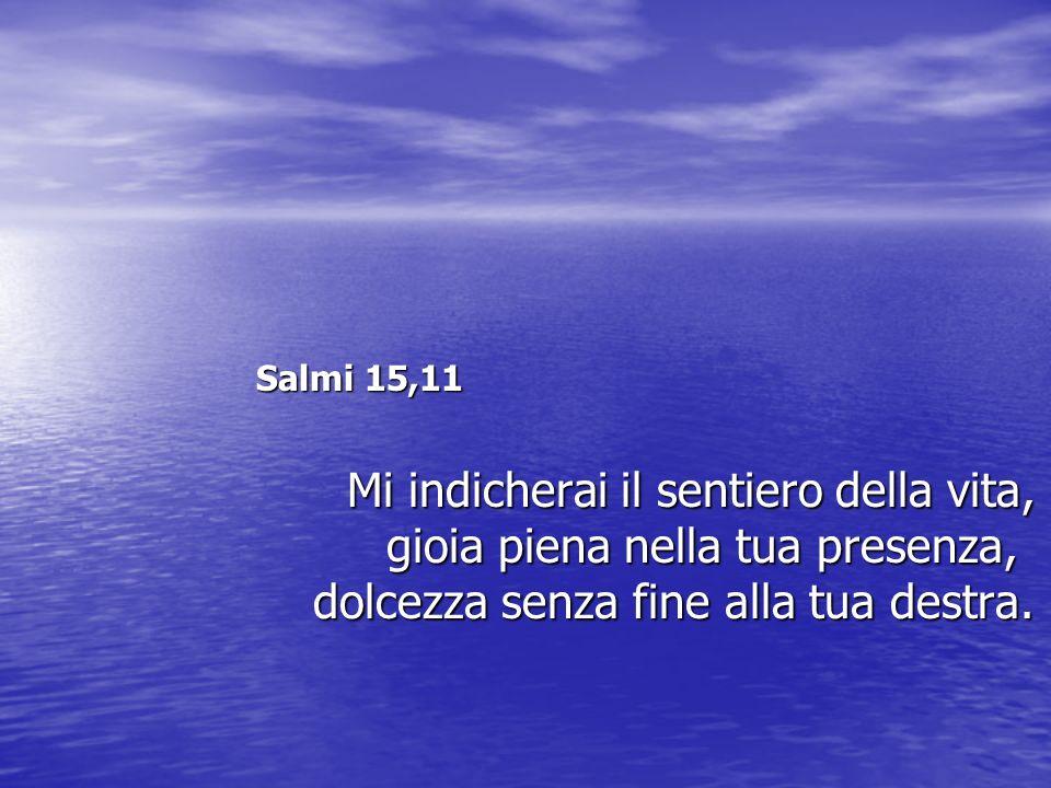 Salmi 15,11