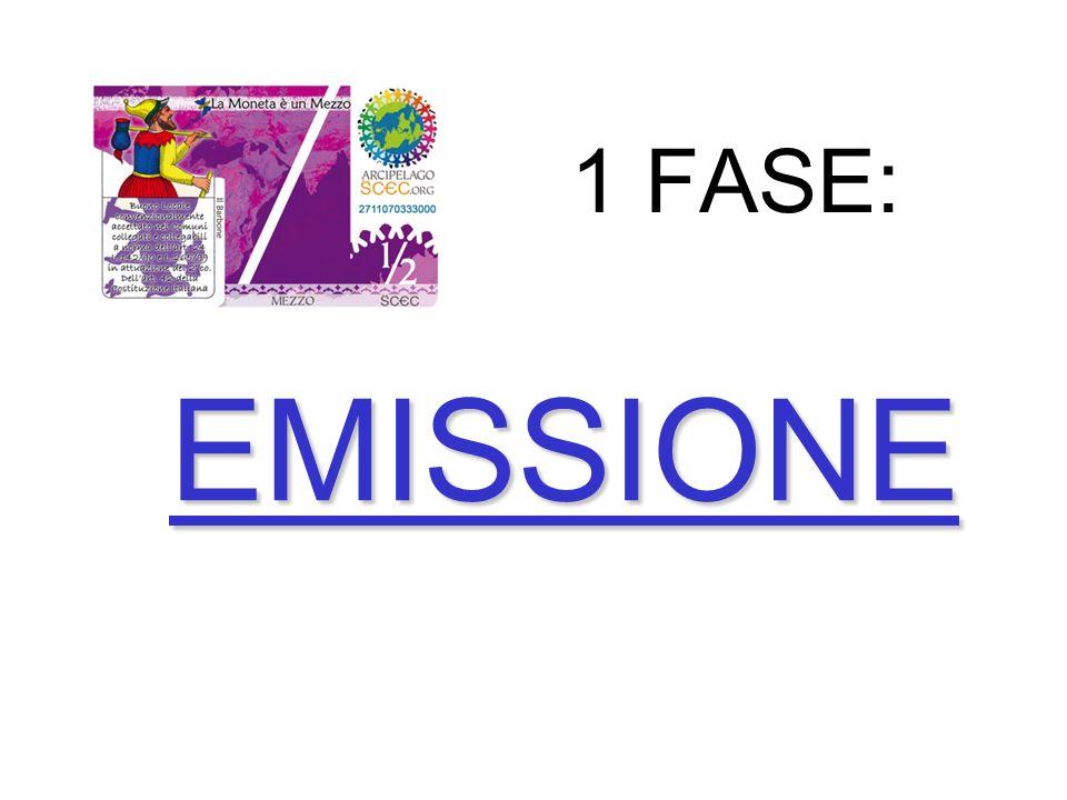 1 FASE: EMISSIONE