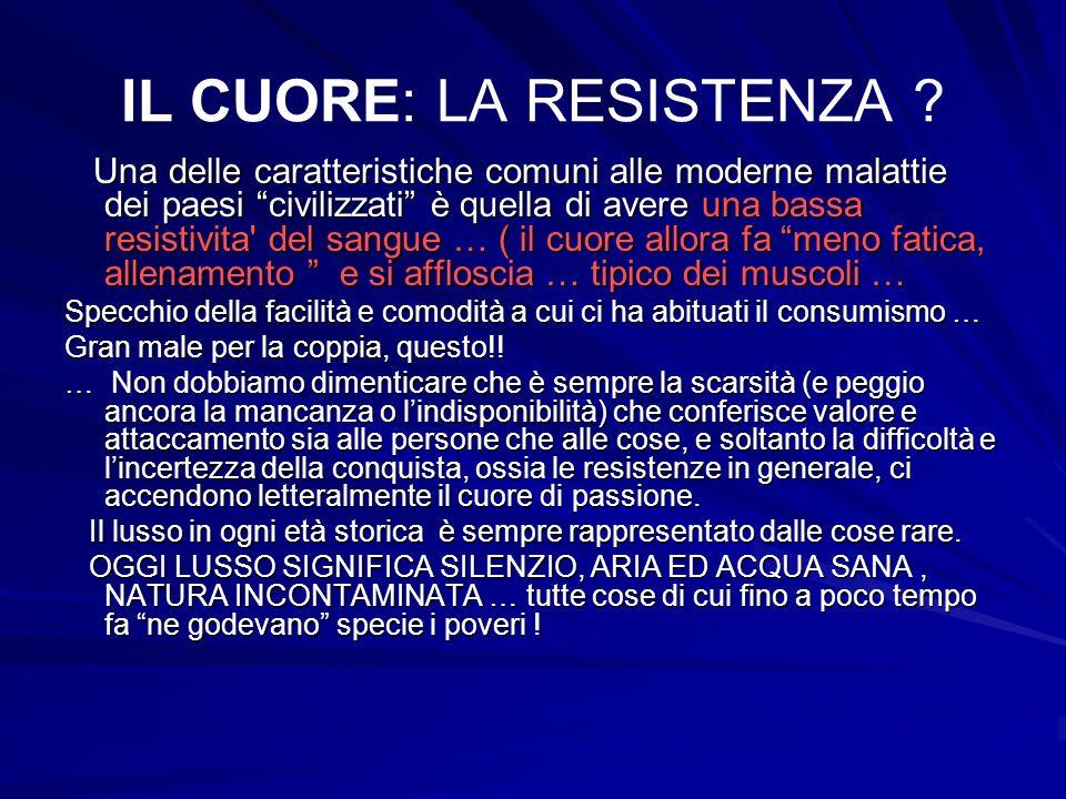 IL CUORE: LA RESISTENZA