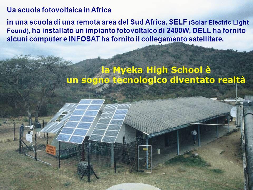 Scuola fotovoltaica africana