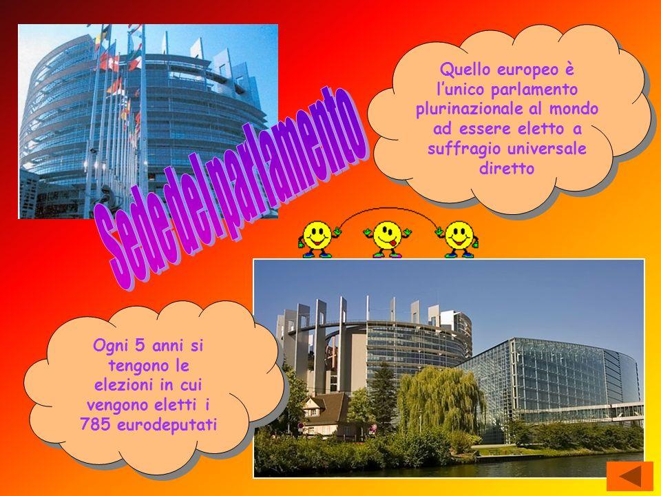 Quello europeo è l'unico parlamento plurinazionale al mondo ad essere eletto a suffragio universale diretto