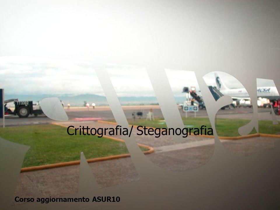 Crittografia/ Steganografia