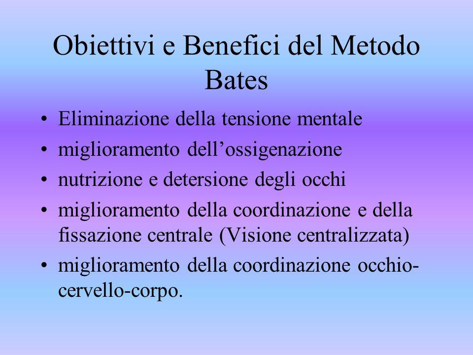 Obiettivi e Benefici del Metodo Bates