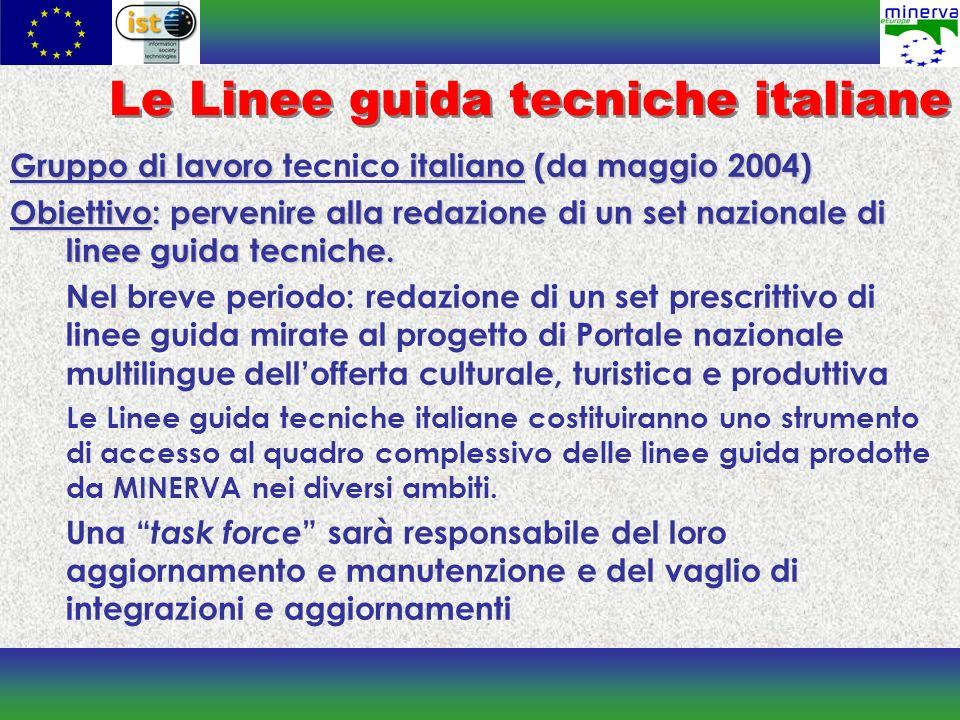 Le Linee guida tecniche italiane
