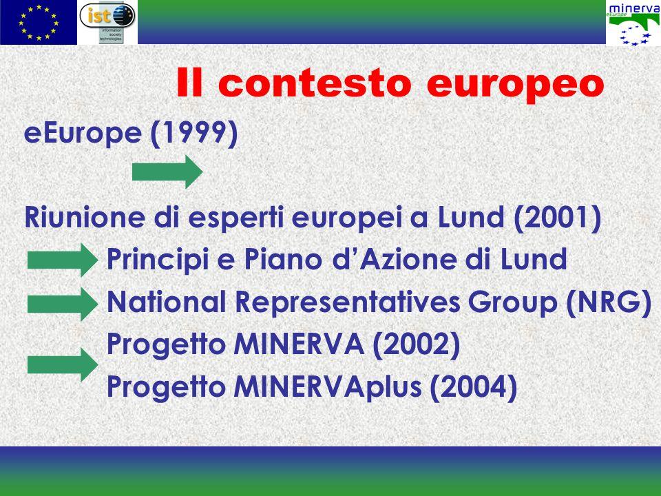 Il contesto europeo eEurope (1999)
