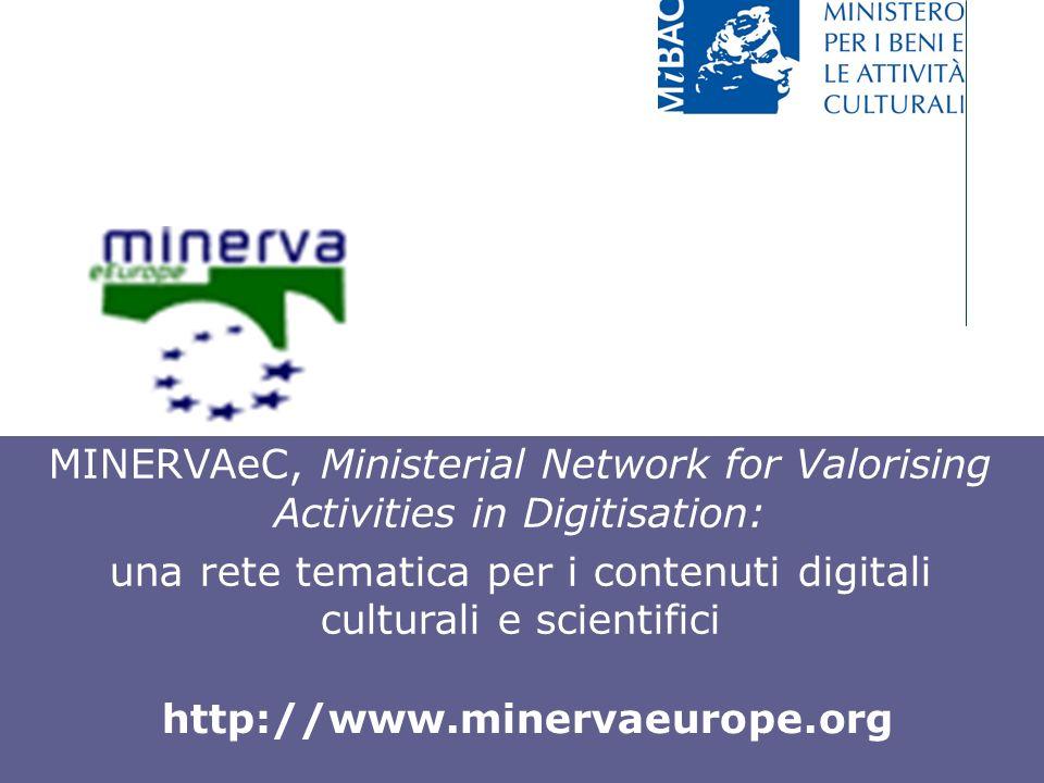 una rete tematica per i contenuti digitali culturali e scientifici