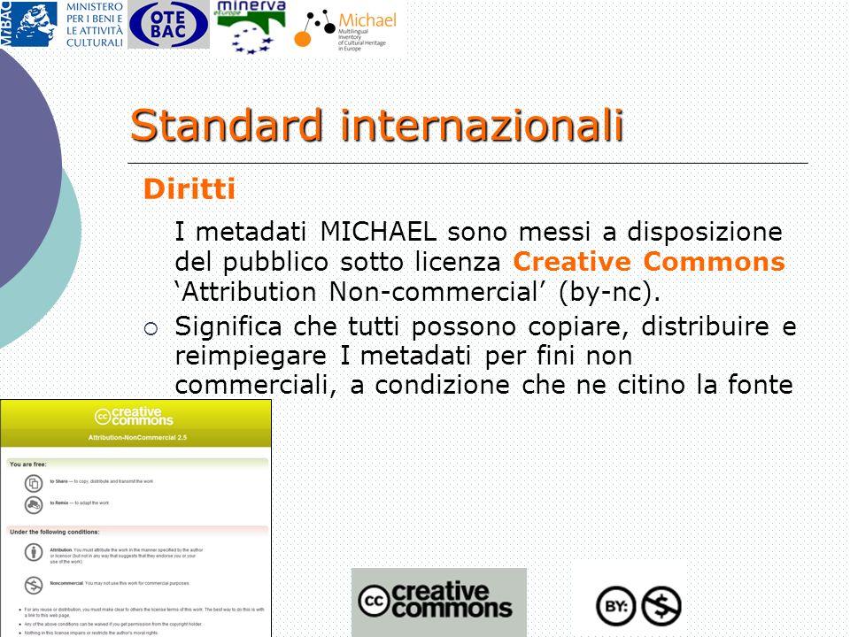 Standard internazionali
