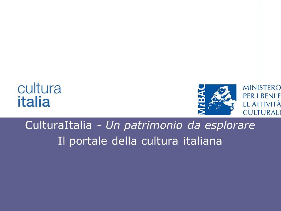 CulturaItalia - Un patrimonio da esplorare