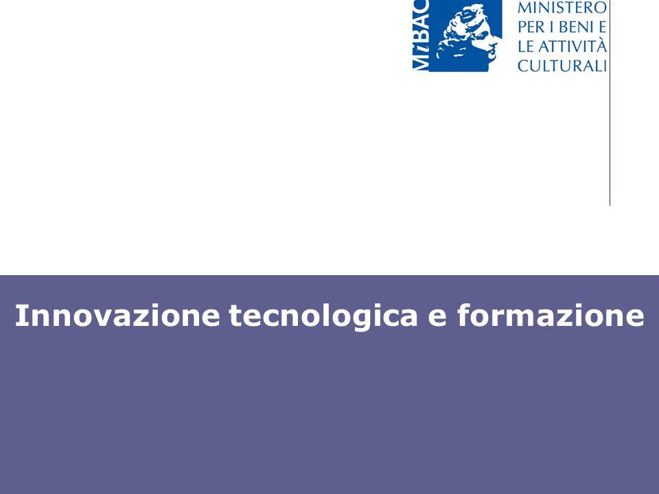 Innovazione tecnologica e formazione