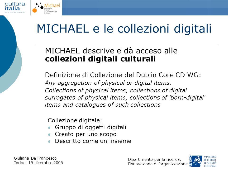 MICHAEL e le collezioni digitali
