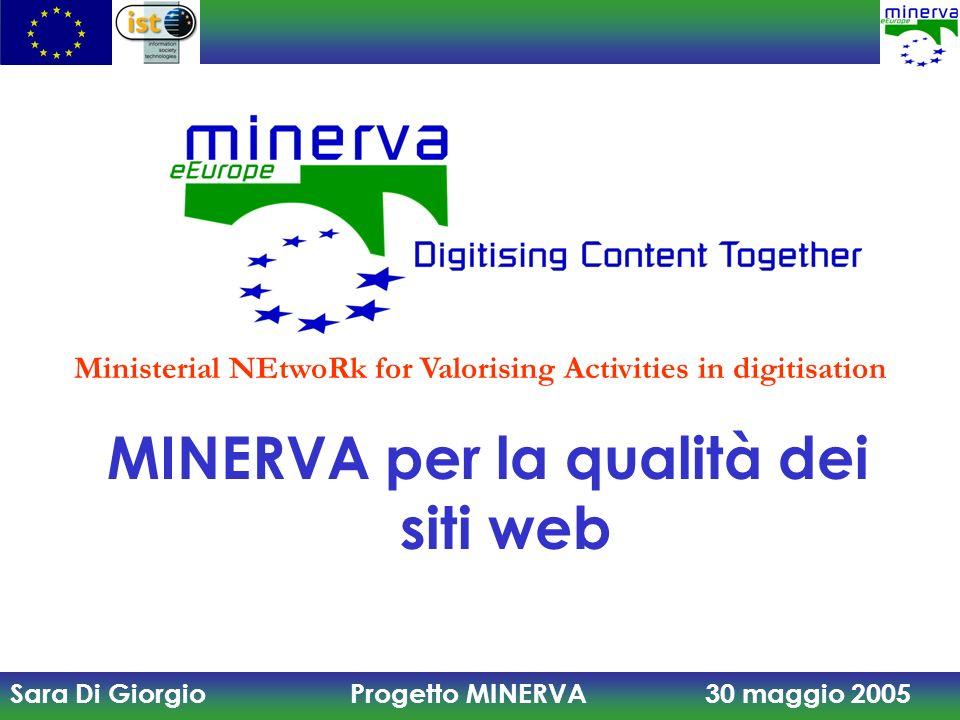 MINERVA per la qualità dei siti web