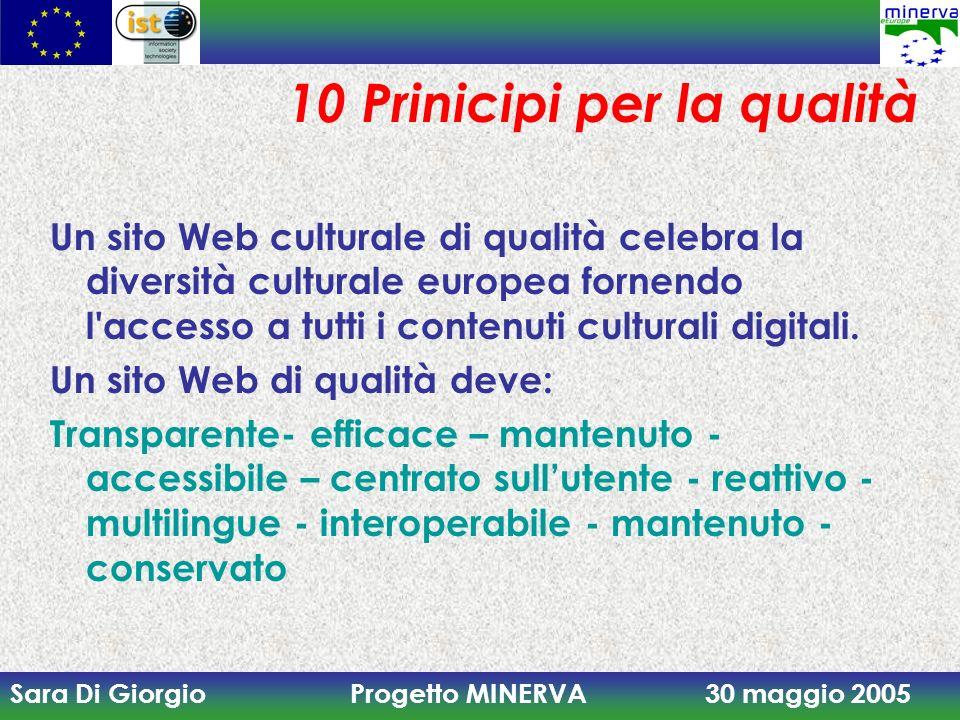Minerva per la qualit dei siti web ppt scaricare for Sito web per la progettazione di mobili