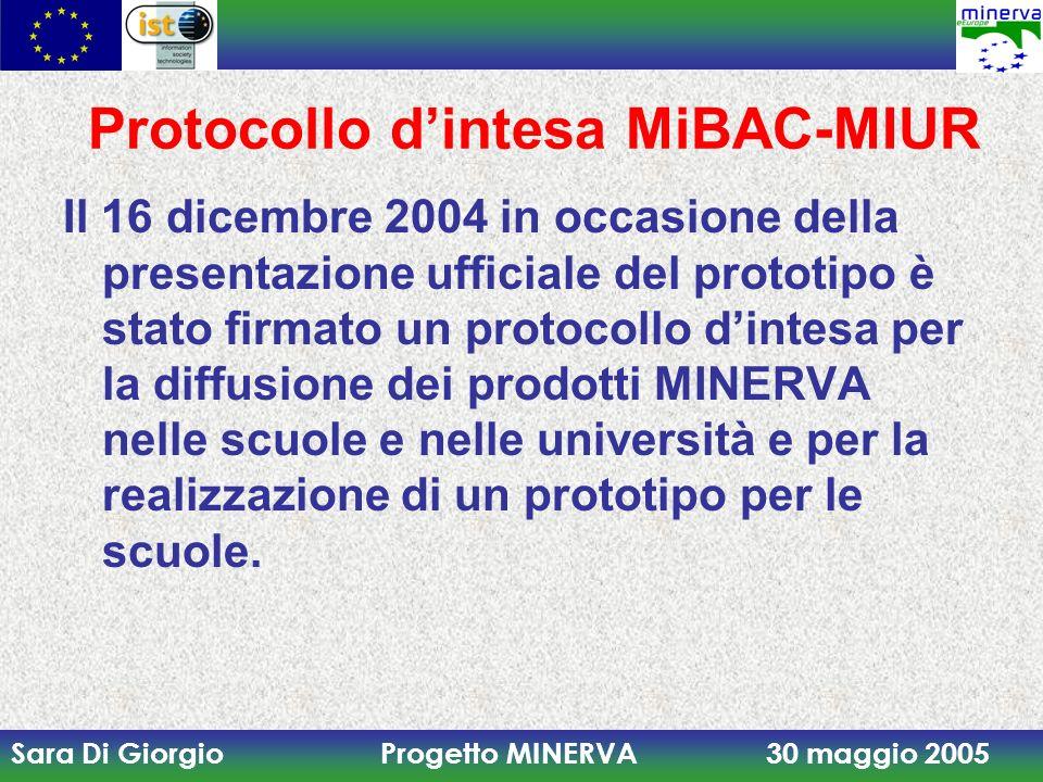 Protocollo d'intesa MiBAC-MIUR
