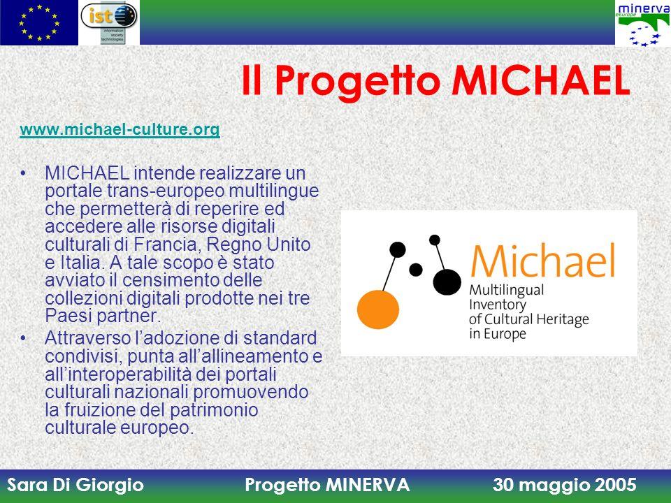 Il Progetto MICHAEL www.michael-culture.org.