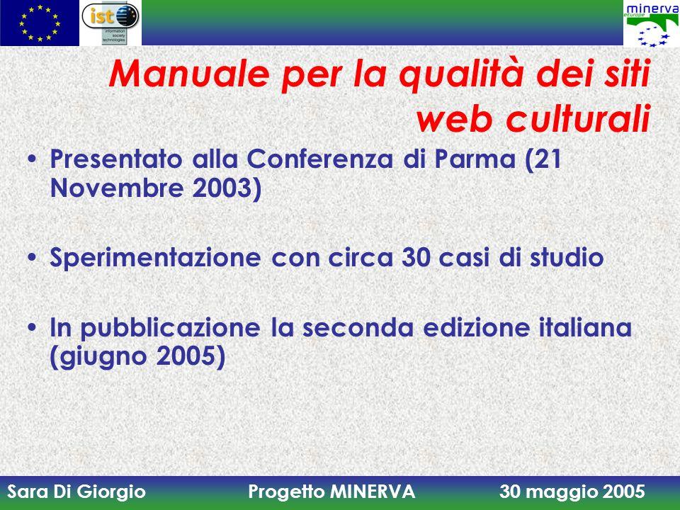 Manuale per la qualità dei siti web culturali