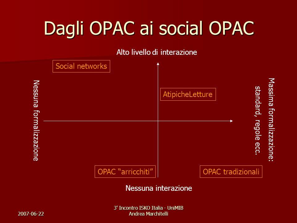 Dagli OPAC ai social OPAC