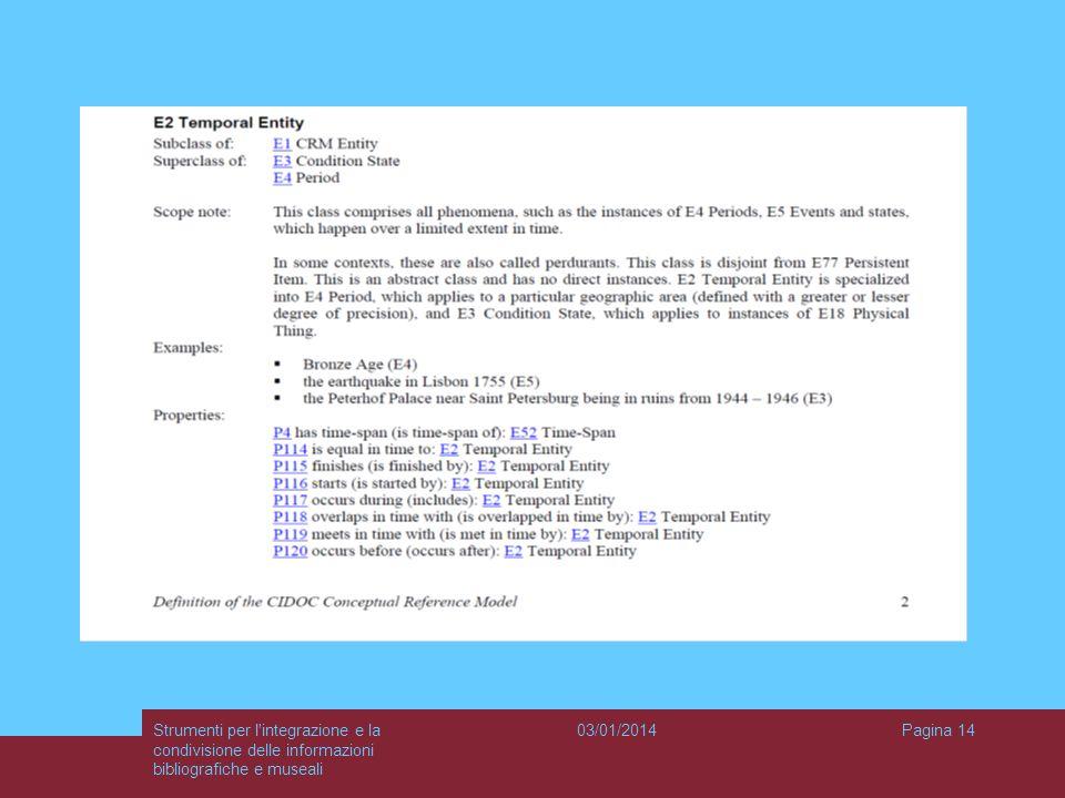 Strumenti per l integrazione e la condivisione delle informazioni bibliografiche e museali