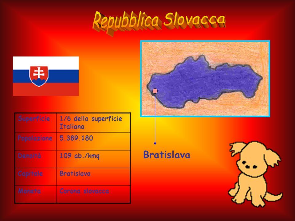 Repubblica Slovacca Bratislava Superficie