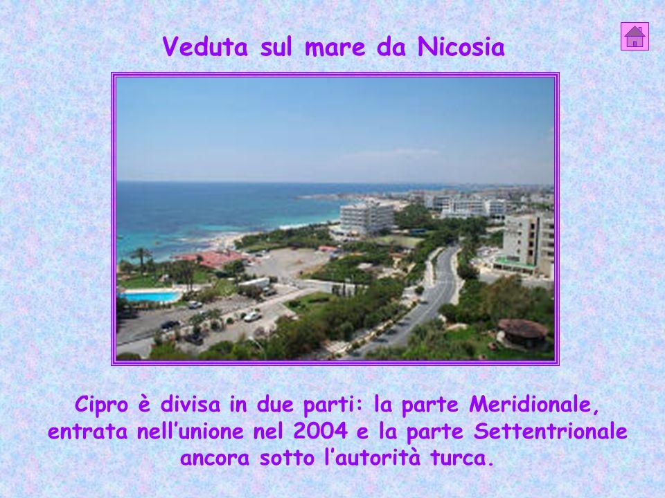 Veduta sul mare da Nicosia