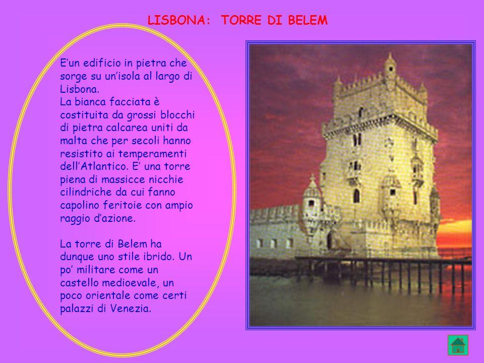 LISBONA: TORRE DI BELEM