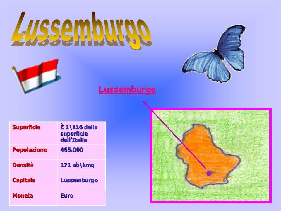 Lussemburgo Lussemburgo Superficie