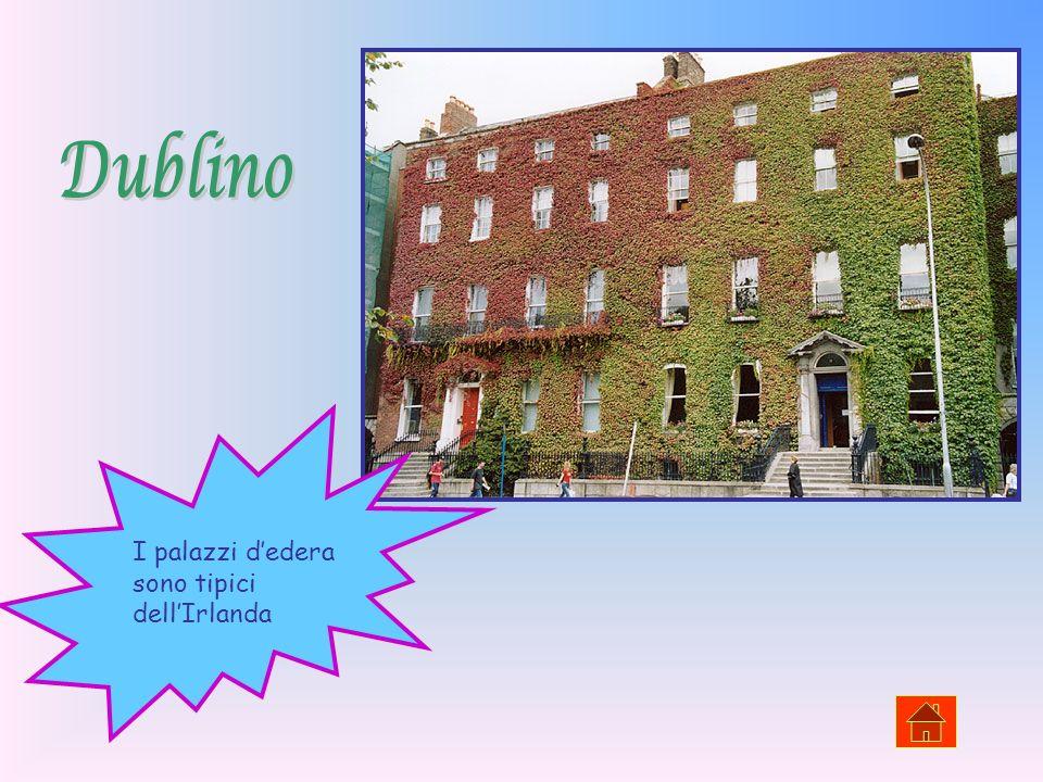 Dublino I palazzi d'edera sono tipici dell'Irlanda