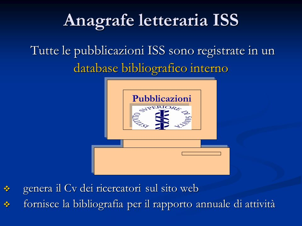 Anagrafe letteraria ISS