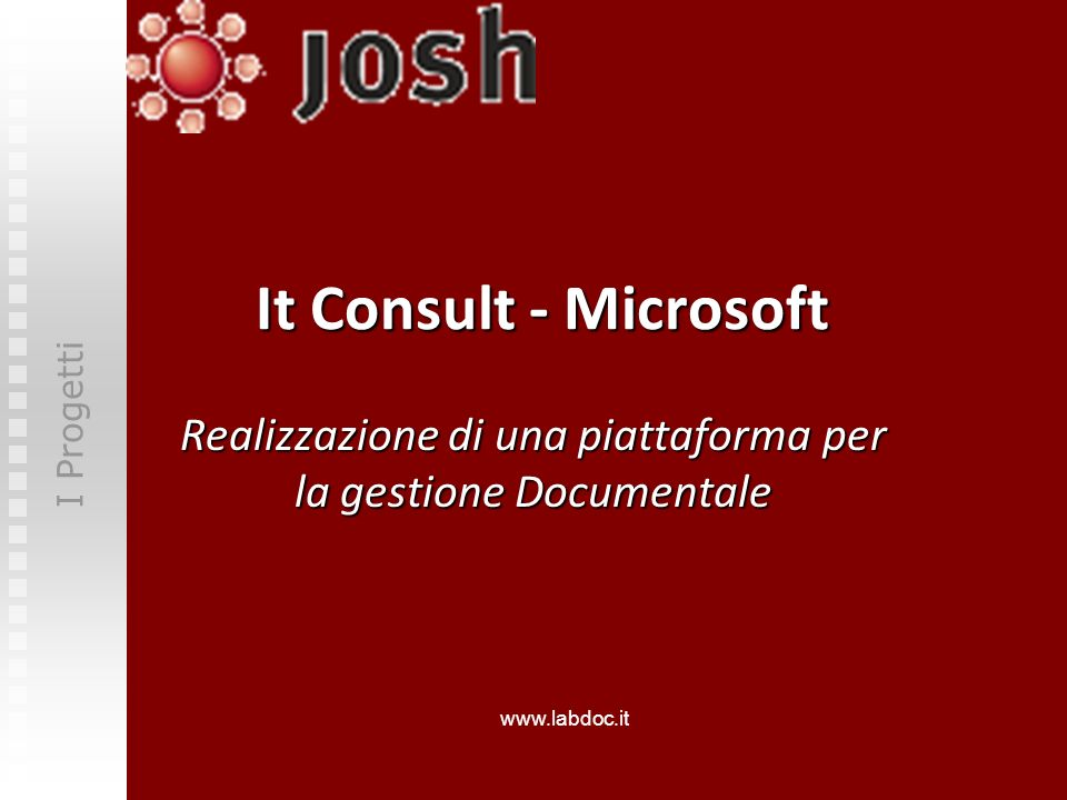 Realizzazione di una piattaforma per la gestione Documentale