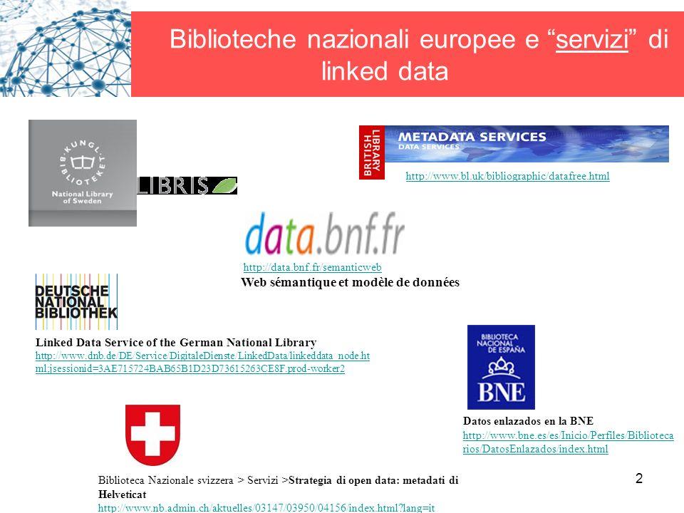 Biblioteche nazionali europee e servizi di linked data
