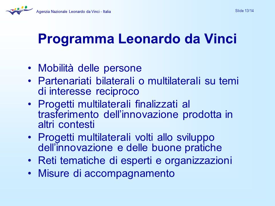 Programma Leonardo da Vinci