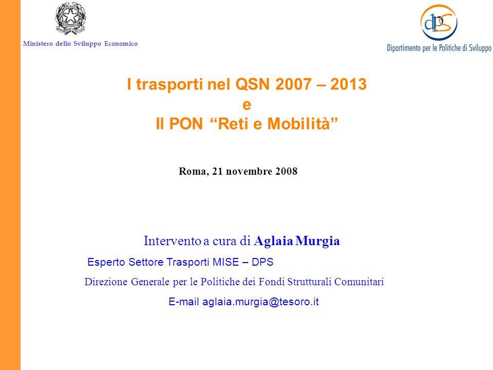 Il PON Reti e Mobilità