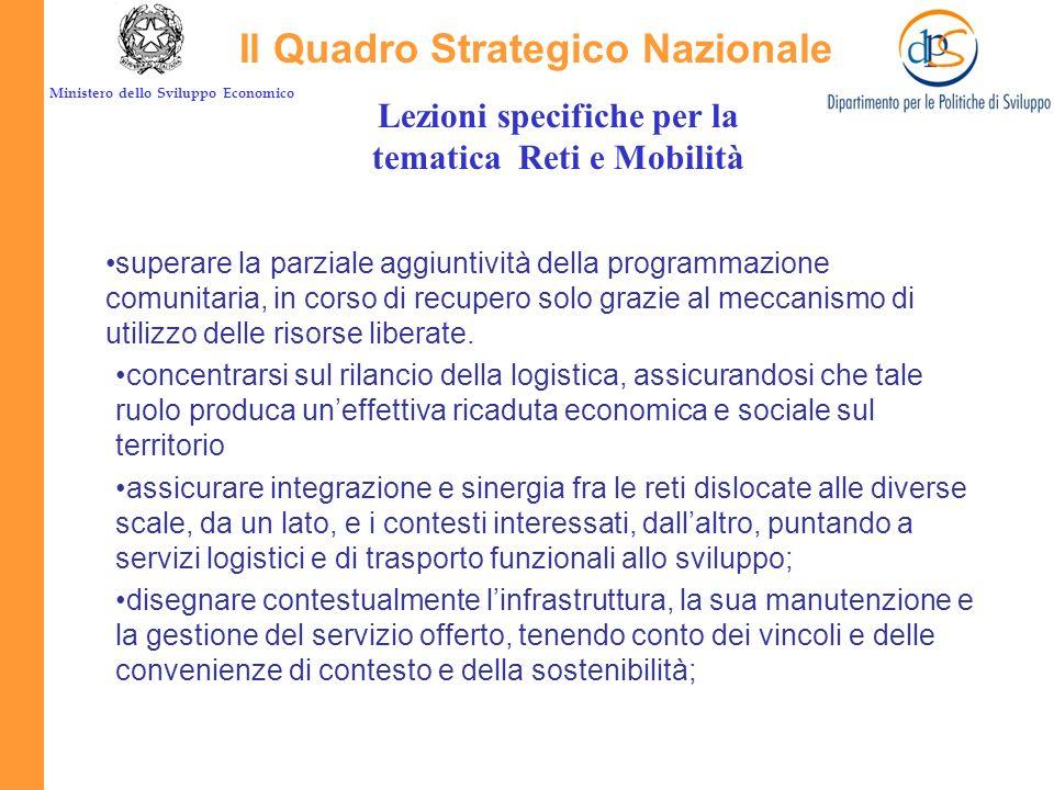 Il Quadro Strategico Nazionale