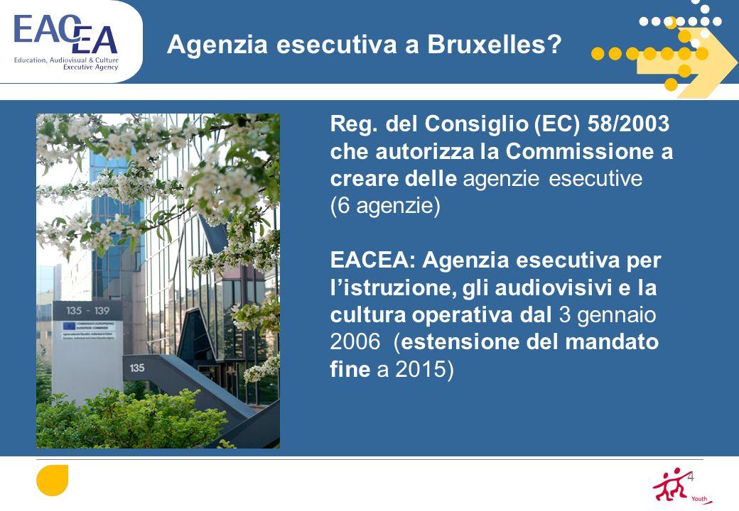 Agenzia esecutiva a Bruxelles
