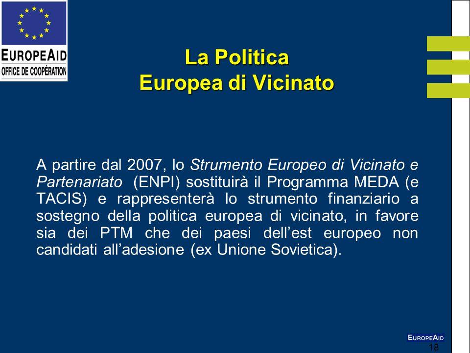 La Politica Europea di Vicinato