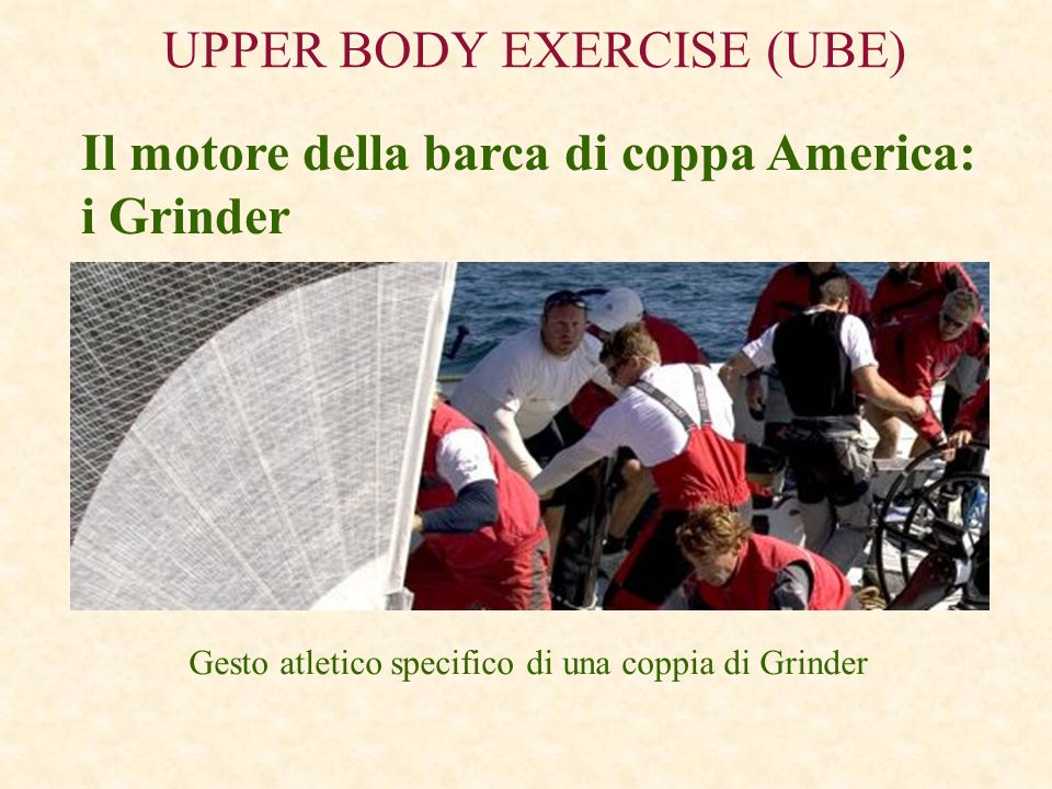 UPPER BODY EXERCISE (UBE)