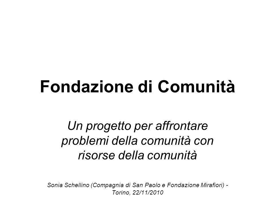 Fondazione di Comunità