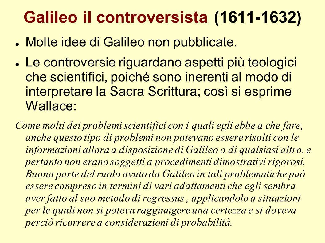 Galileo il controversista (1611-1632)
