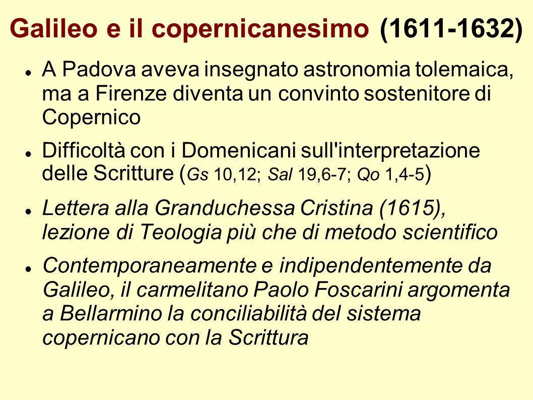 Galileo e il copernicanesimo (1611-1632)