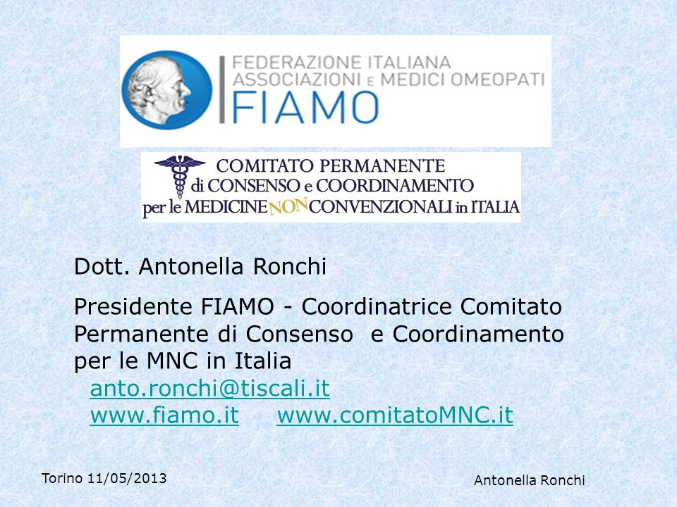 www.fiamo.it www.comitatoMNC.it