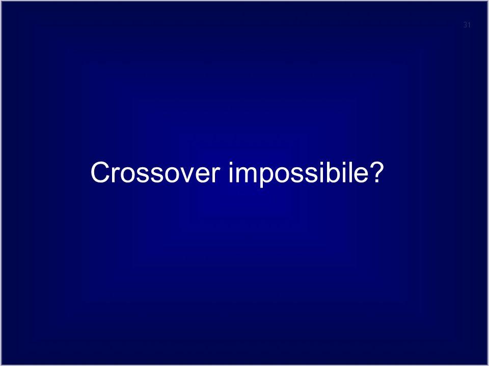 Crossover impossibile