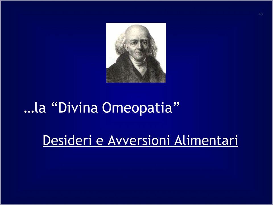 …la Divina Omeopatia