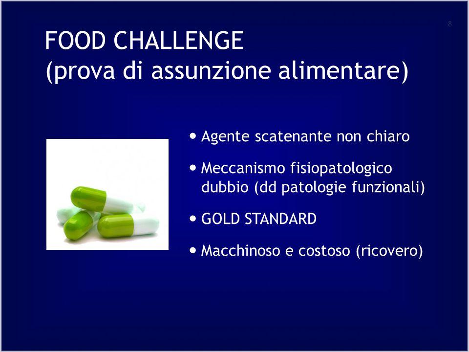 FOOD CHALLENGE (prova di assunzione alimentare)