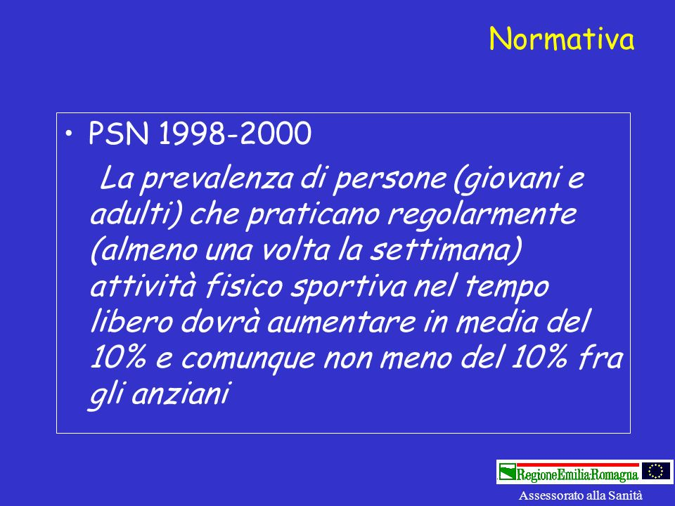 Normativa PSN 1998-2000.