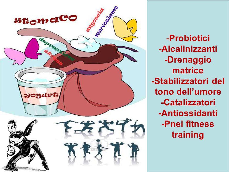 -Stabilizzatori del tono dell'umore -Pnei fitness training