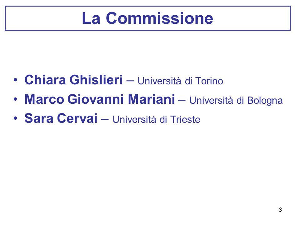 La Commissione Chiara Ghislieri – Università di Torino